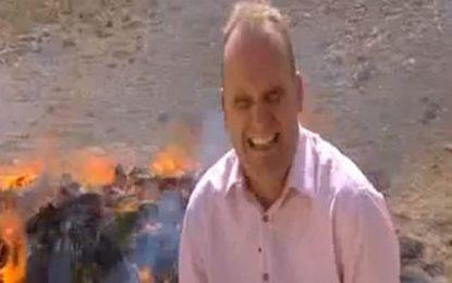 Водещ на BBC се надруса по работа