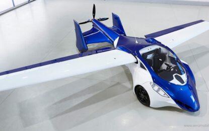 Летящият автомобил от детските ни мечти