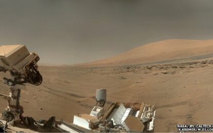 Марсианска планина е била дъно на гигантско езеро