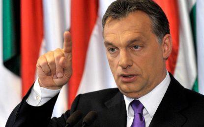 Орбан спира бежанците и с конституция