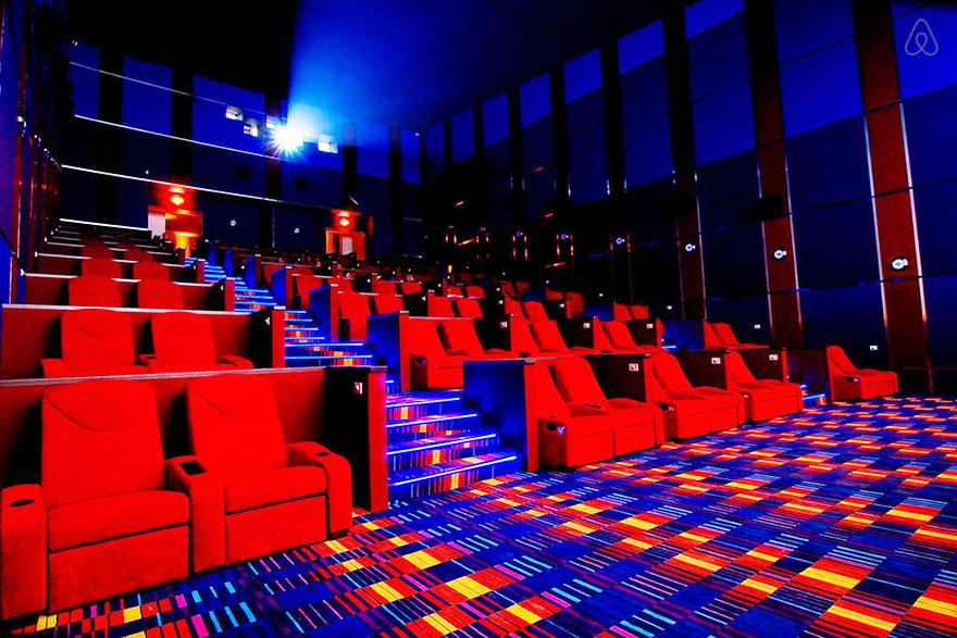 Кино Нюпорт Ултра, Нюпорт Сити. Снимка: BoredPanda