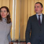 Министърът на туризма Николина Ангелкова с кмета на Варна Иван Портних. Снимка БГНЕС