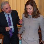 Николина Ангелкова на работно посещение във Варна