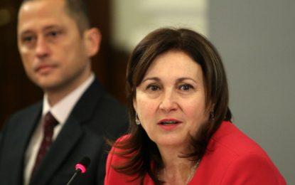 Захариева не била нито от страната на прокурорите, нито от съдиите