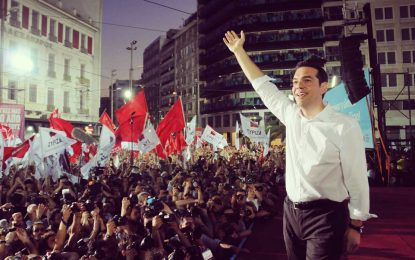 СИРИЗА настъпва, гърците теглят евро