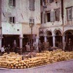 Пазар на пъпеши на остров Корфу
