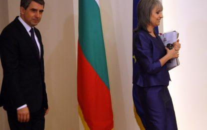 Плевнелиев си пожела година на реформи и активно участие в НАТО