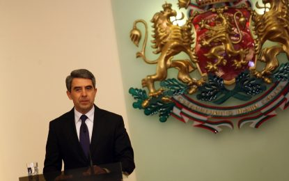 Плевнелиев призова властите в Македония да опазят мира в страната