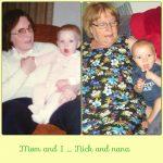 Баба и дъщеря, баба и внук.