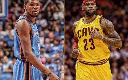 """Избрано от НБА: Леброн изведе """"Кевс"""" до успех над """"Тъндър"""""""