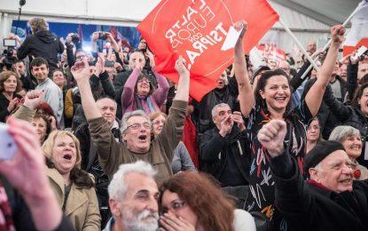 Историческа победа за СИРИЗА на изборите в Гърция