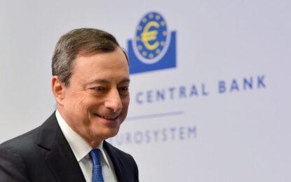 ЕЦБ налива €1.1 трилиона в еврозоната