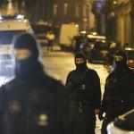 Акцията на белгийската полицията във Вервие. Снимка: ЕРА/БГНЕС