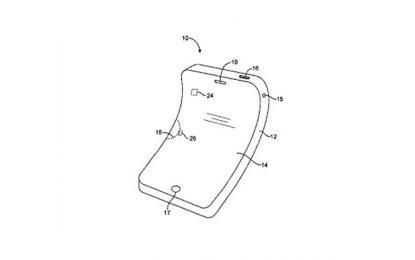Apple патентова огъващ се iPhone