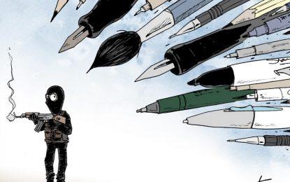Карикатуристите отвръщат на удара