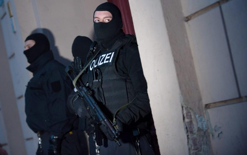 Полицейската акция в Германия. Снимка: ЕРА/БГНЕС