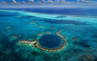 """""""Синята дупка"""" разкрива края на една велика цивилизация"""