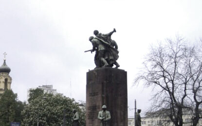 Полша премахва завинаги Паметника на Съветската армия