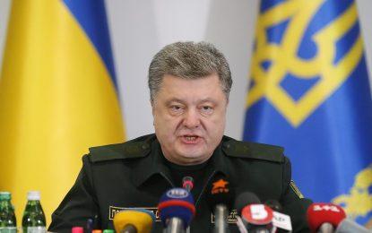 Порошенко потвърди, че сепаратистите изтеглят артилерията
