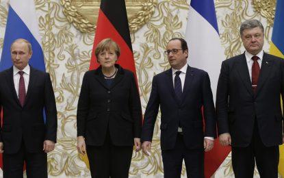 Година след договора от Минск, мирът в Украйна е мираж