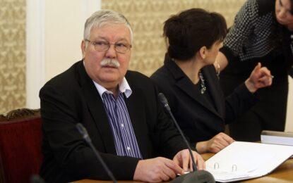 Ген. Стоян Тонев напуска парламента