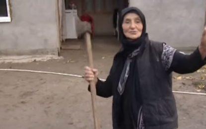 88-годишна баба подгони крадци с брадвичка