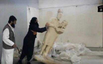 """""""Ислямска държава"""" продължава джихада срещу историята на Ирак"""