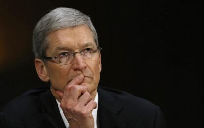 Шефът на Apple ще дари състоянието си за добрини