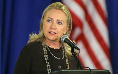 WSJ: Хилари Клинтън тръгва към Белия дом през април