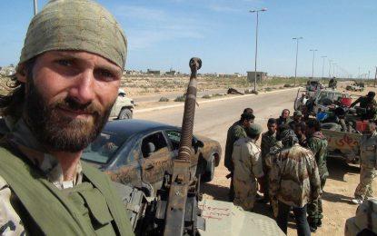 """Кръстоносецът, който се бие срещу """"Ислямска държава"""""""