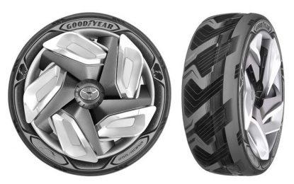Хайтек гуми зареждат електромобили в движение