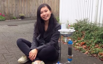 Тийнейджърка променя света с устройство за по-чиста вода
