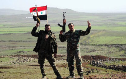 """Сирийската армия ликвидира лидера на """"Фронт ан Нусра"""""""