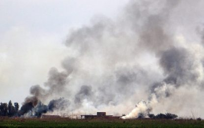 """""""Ислямска държава"""" взриви щаба на иракската армия в Рамади"""