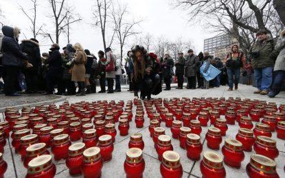 Без Путин и Медведев на погребението на Немцов