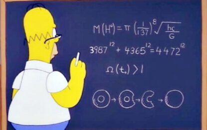 Защо Хоумър Симпсън заслужава Нобел