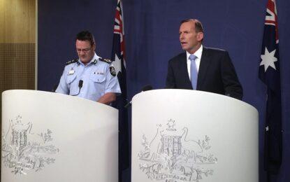 Австралия задържа петима за подготовка на терористичен атентат
