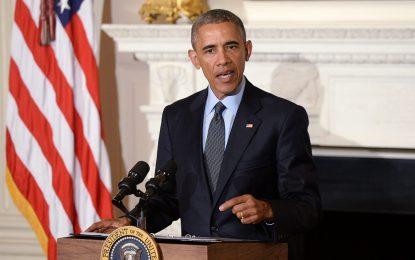 """Обама призова Русия и Иран да """"въздействат"""" на Асад"""