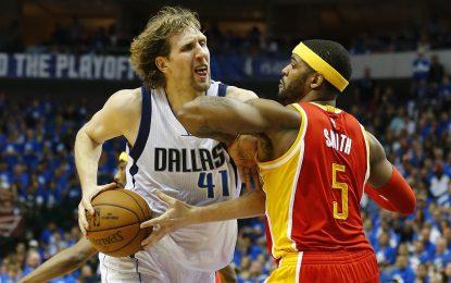 """НБА плейофи: """"Мавс"""" оцеляха в труден мач срещу """"Рокетс"""""""
