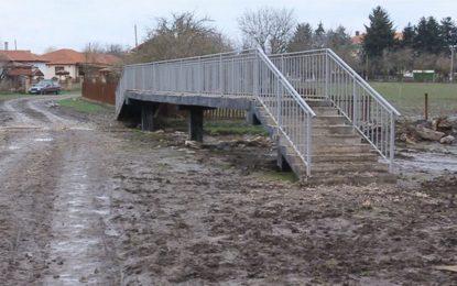 Мост от кал до кал изградиха в Славеево