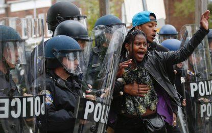 Сблъсъци в Балтимор пак заради смърт на цветнокож