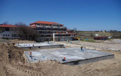 """МОСВ спира строежа на """"Къмпинг Юг"""" въпреки съда"""
