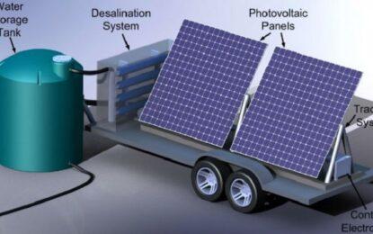 Учени обезсоляват вода със слънчеви панели