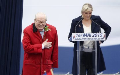 Националният фронт на Франция отстрани баща си