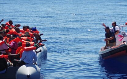 Пак лодка с мигранти потъна в Средиземно море