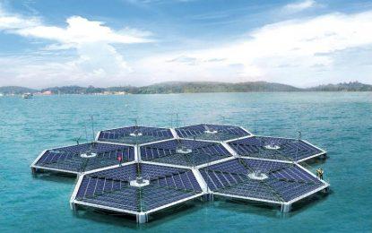 Япония строи най-големия фотоволтаичен парк по вода