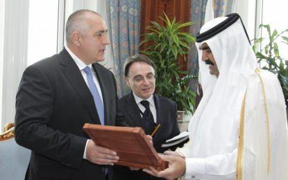Бойко Борисов на визита в Катар и в този мандат
