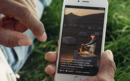 Изкуствен интелект разказва на незрящите за снимките във FB