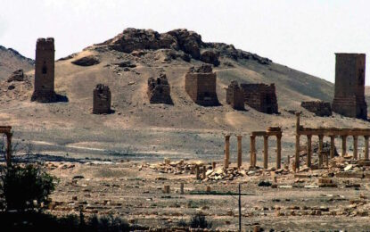 """""""Ислямска държава"""" започна с убийствата в Палмира"""
