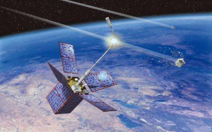 С лазер – срещу космическия боклук